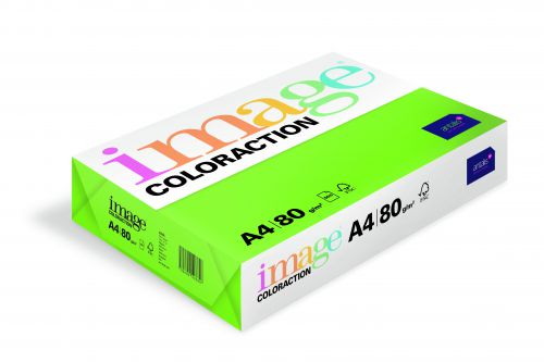 Image Coloraction Java FSC Mix Credit A4 210x297 mm 80Gm2 Dark Green Pack of 500