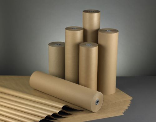 Strong Imitation Kraft Paper Roll 500mm x 300m Brown 70015