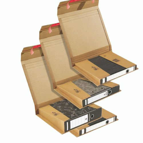 Colompac Folder Postal Wrap CP050.01 Int 320x290x80mm Ext 365x300x85mm Pack 20