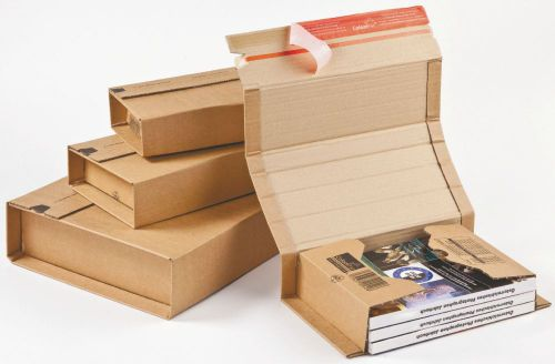 Colompac Postal Wrap CP020.18 Int 455x320x70mm Ext 510x330x85mm Pack 20
