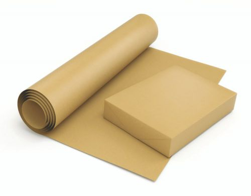 Pure Ribbed Kraft Paper Roll 70Gm2 500mm X 300M