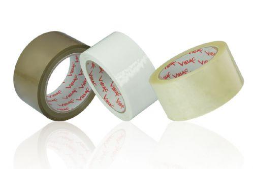 Vibac 425 Polypropylene Tape Hotmelt Buff 25mu 48mm x 132m Pack 36