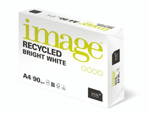 Image Recycled High White 100% Recycled A3 420x297mm 80Gm2 Pack 500 Plain Paper PC1953