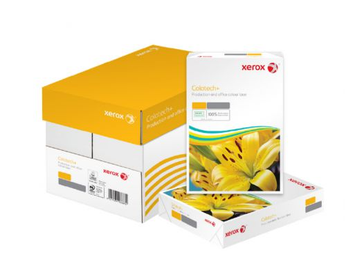 Xerox FSC Colotech+ Digital Colour Paper Prem Ream-Wrapped ColorLok 100gsm A4 White Ref 64461[500 Sheets]