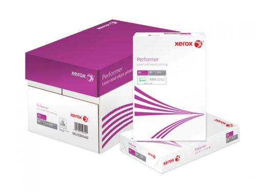 Xerox Performer Multifunctional Paper Ream-Wrapped 80gsm A4 White Ref 62304 [500 Sheets]