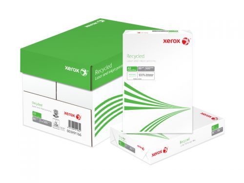 Xerox Recycled A3 297x420mm 80Gm2 Pack 500