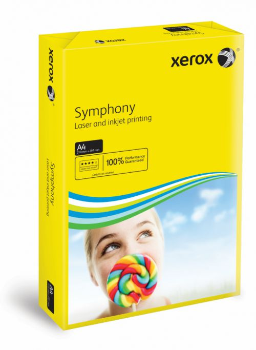 Xerox Symphony Dark Yellow A4 80gsm Paper (Pack of 500) XX93952