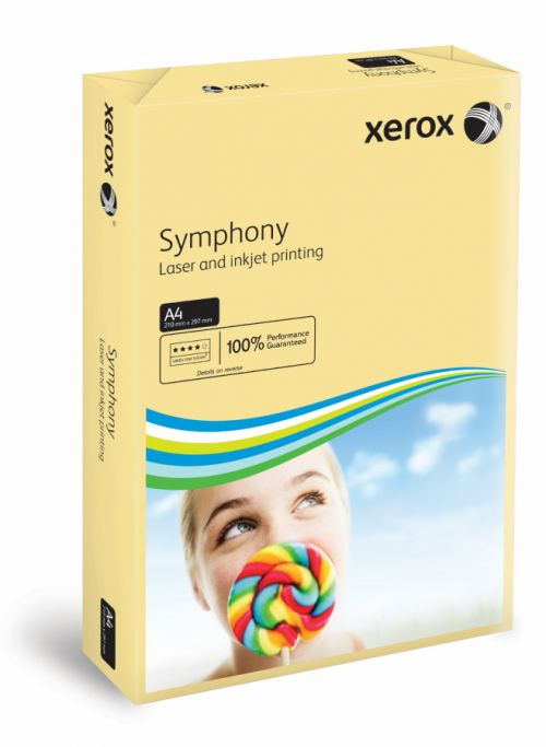 Xerox Symphony PEFC2 A4 210x297 mm 160Gm2 Pastel Ivory Pack of 250 003R93219