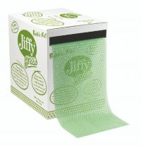 Jiffy Green Bubble Wrap Dispenser Box 300mm x 50m