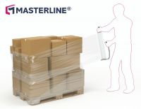 Masterline Premier Cast Hand Stretchfilm 500mm x 300m x 19mu Standard Core Box 6