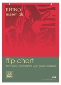5 Star Value Flipchart Pad Perforated 40 Sheets A1 [Pack 5]