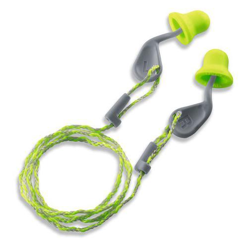 Uvex Range Uvex Xact-Fit Corded Ear Plug Pk 50 212 4-001