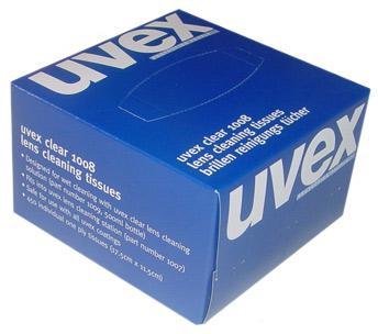 Uvex Range Uvex Cleaning Tissues 450/Box  9991-000