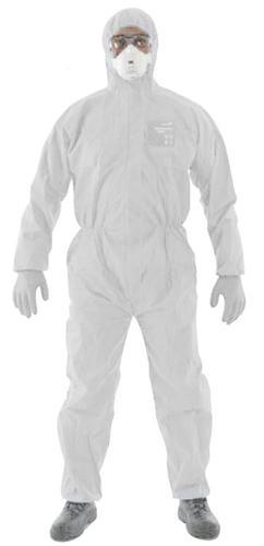 Ansell Microgard 1500 Plus White L  Anwh15111L