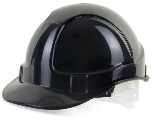Black Plastic Harness Economy Vented S/Helmet Bbev shbl