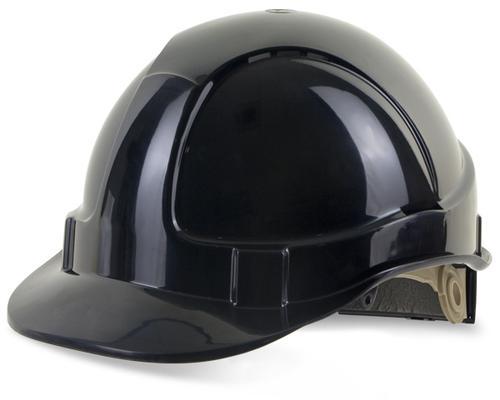 Black Wheel Ratchet Headgear B-Brand Safety Helmet  Bbvshrhbl