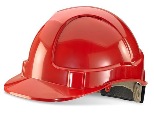 Red Wheel Ratchet Headgear B-Brand Safety Helmet B bvshrhre