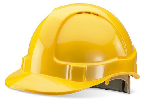 Yellow Wheel Ratchet Headgear B-Brand Safety Helme t Bbvshrhy