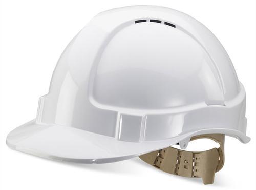 B-Brand Other Range B-Brand Vented S/Helmet White  Bbvshw