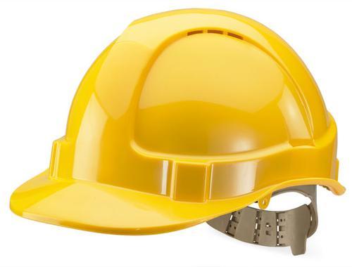 B-Brand Other Range B-Brand Vented S/Helmet Yellow   Bbvshy