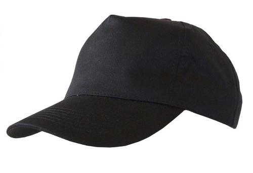 Poly-Cotton Workwear Baseball Cap Black  Bcbl