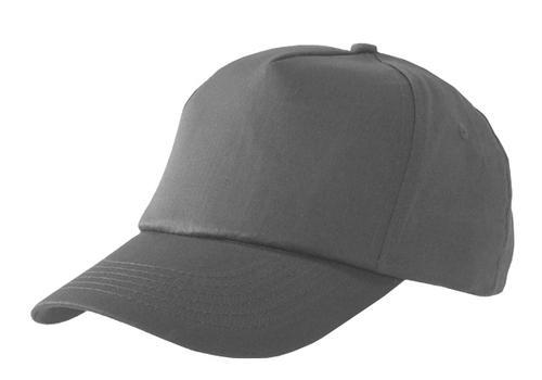 Poly-Cotton Workwear Baseball Cap Grey  Bcgy