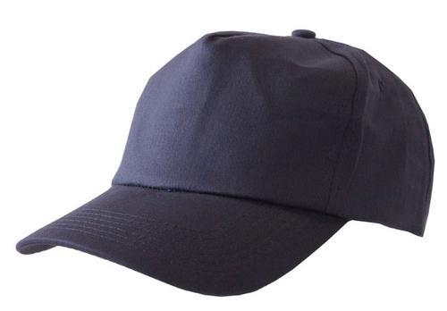 Poly-Cotton Workwear Baseball Cap Navy  Bcn