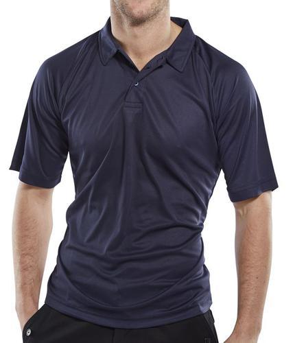 Click Leisurewear B-Cool Polo Shirt Navy 3Xl  Bcpk sn3Xl