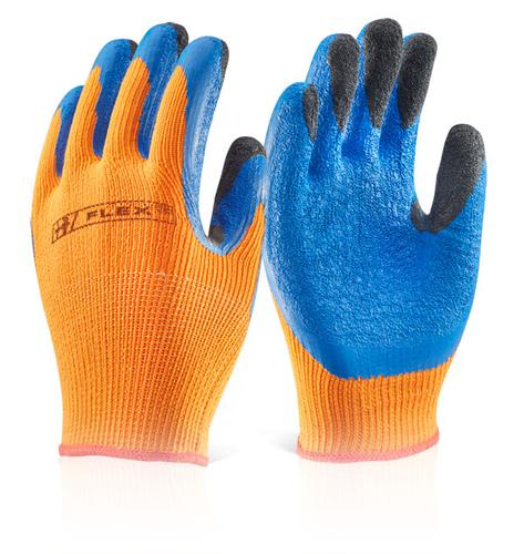 Click 2000 Glove Range Latex Thermo-Star F-Dip Or 10  Bf3Or10