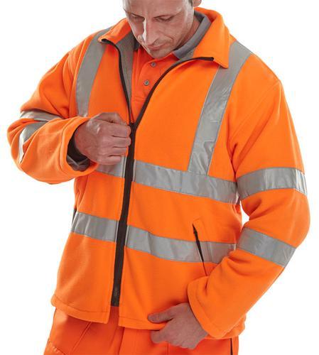 B-Seen Hv Outer Wear Carnoustie Fleece Jkt Or Med  Carform