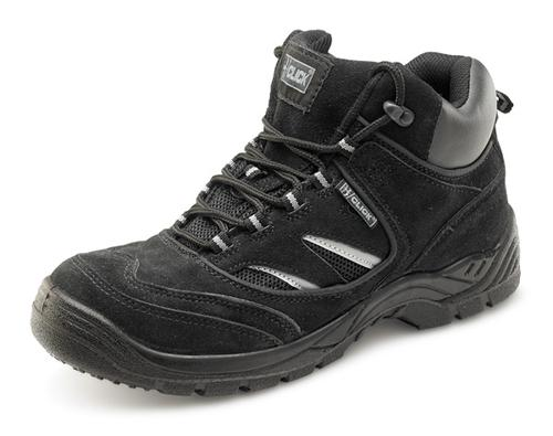 Click Safety Footwear D/D Trainer Boot Black 09  C ddtbbl09