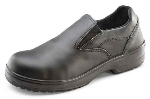 Click Safety Footwear Ladies Slip-On Shoe Bl 38/05   Cf12Bl05