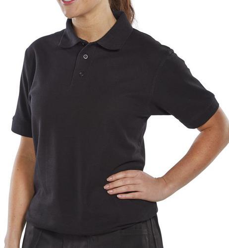 Click Leisurewear Click Pk Shirt Black S  Clpksbls