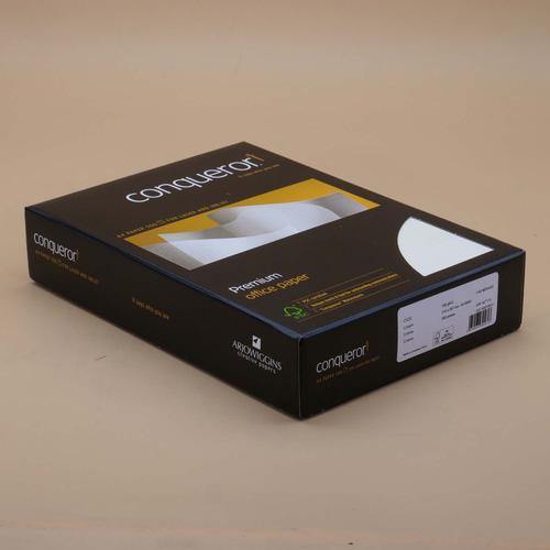Conqueror Paper FSC Mix Credit CX22 Smooth A4 Cream 100Gm2 Ream 500