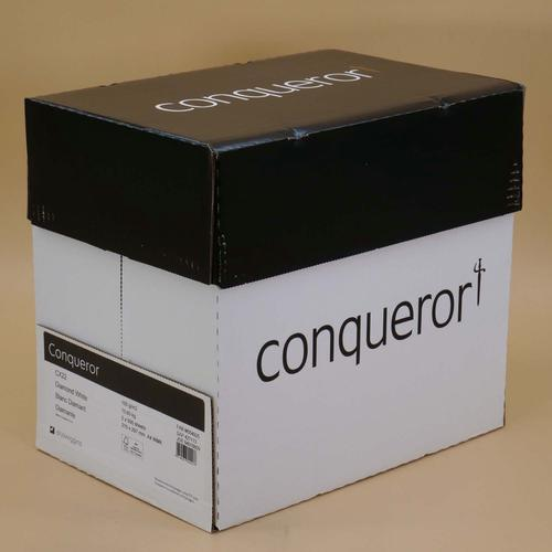 Conqueror Paper Mixed Sources CX22 Smooth/Satin FS C4 A4 Diamond White 100Gm2 Watermarked Pack 500