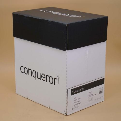 Conqueror Paper Texture FSC4 A4 Laid Brilliant Whi te 100Gm2 Watermarked Pack 500