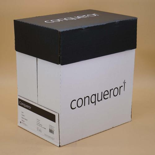 Conqueror Paper Texture Laid Oyster FSC4 A4 210x29 7mm 100Gm2 Watermarked Pack 500