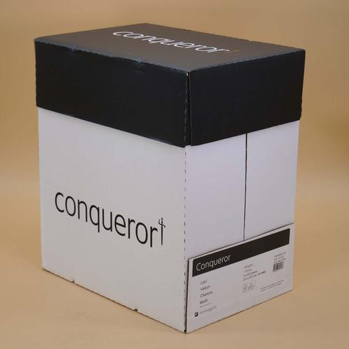 Conqueror Paper Texture Vellum Laid FSC4 A4 100Gm2  Watermarked Pack 500