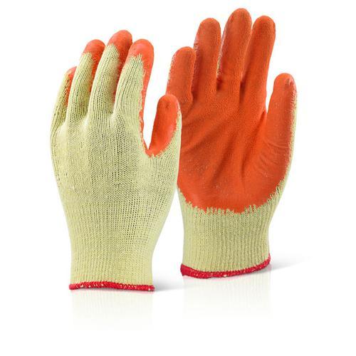 Click 2000 Glove Range Economy Grip Glove Orange X l Pk 10 Ec8Norxl