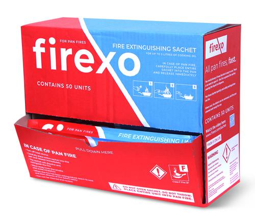 Firexo Retail Ready 50 Sachet Box  Fx-50Sa