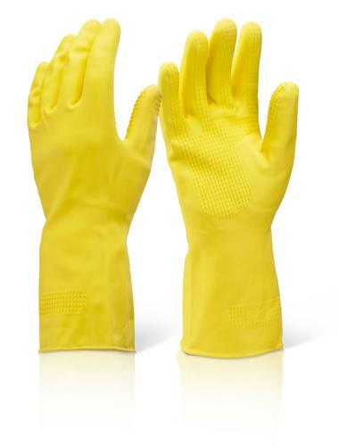 Click 2000 Rubber Gloves Household Hw Yellow M  Hh hwm