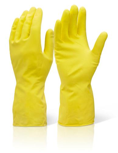 Click 2000 Rubber Gloves House Hold Mw Yellow L  H hmwl