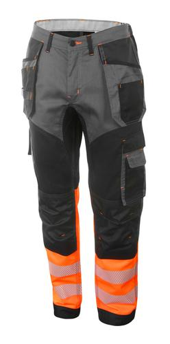 Hivis Two Tone Trousers Or/Blk 40 Hvtt080Orbl40