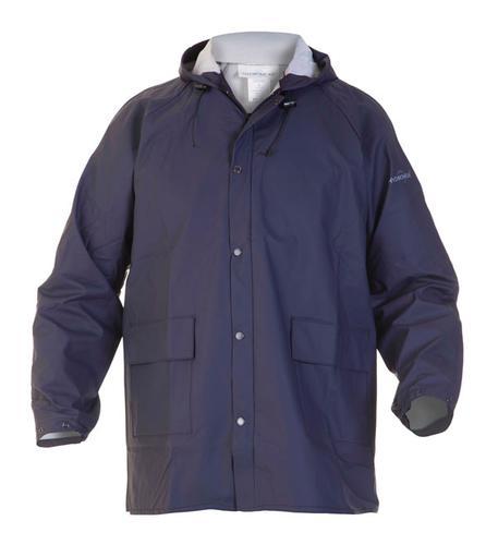 Waterproof Jacket Navy Large - Selsey Hydrosoft