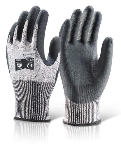 Click Kutstop Gloves - Micro Foam Nitrile Cut B Me d  Pk 10