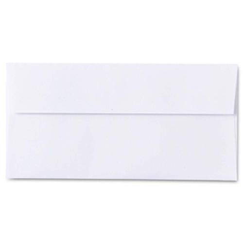 Conqueror Laid Brilliant White DL Envelope FSC4 11 0X220mm Sup/Seal Bnd 50 Box500