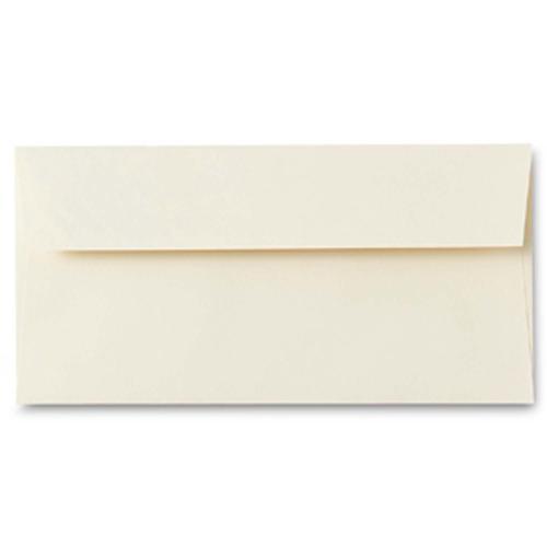 Conqueror Wove Cream DL Envelope FSC4 110X220mm Su p/Seal Bnd 50 Box500