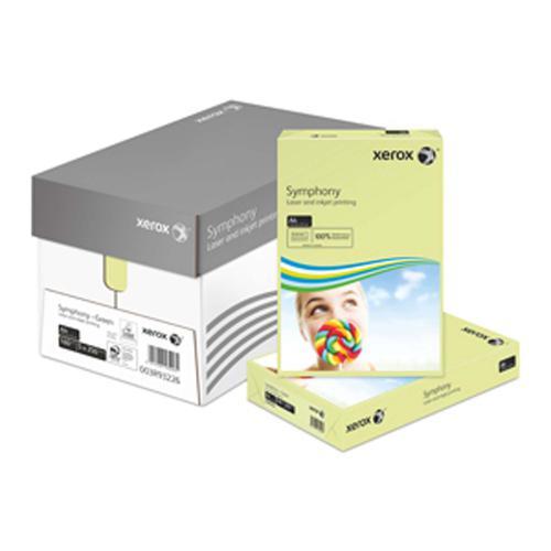 Xerox Symphony PEFC2 A4 210x297 mm 160Gm2 Pastel G reen Pack of 250 003R93226