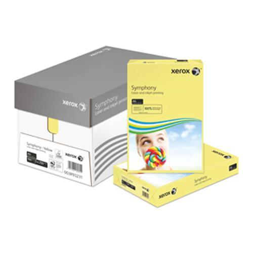 Xerox Symphony PEFC2 A4 210x297 mm 160Gm2 Pastel Y ellow Pack of 250 003R93231
