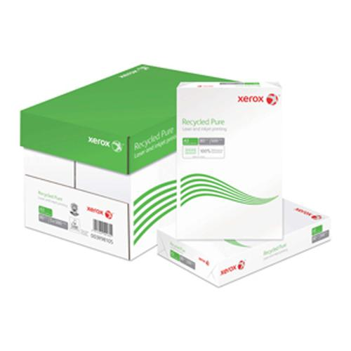 Xerox Recycled Pure 297x420mm A3 80Gm2 Pack of 250 0 003R98105
